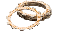 Friction clutch plates
