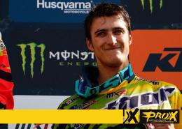 Petar Petrov on podium